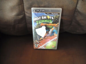 Brand New PSP Hot Shot Tennis Geta Grip Game