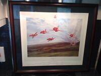 Signed Print (Red Arrows)