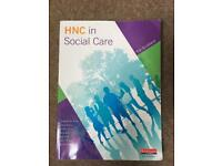 HNC SOCIAL CARE BOOK