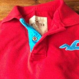 Men's hollister polo shirt