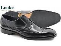 Loake Brummel brogue shoes. Size 8. £180 new (Free postage)