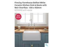 Brand new unboxed Belfast sink