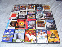 Job Lot of 30 Old PC Games (or 30 DVD cases with free Retro PC Games)