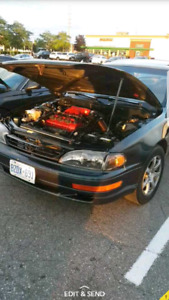 Part Out!!1994 Toyota Camry LE V6 Coupe 3rd Gen (2 door)RARE!!