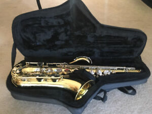 PRICE REDUCED!Tenor Sax Perfect for middle school or high school