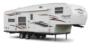 ***MINT***2007 30' FOREST RIVER FLAGSTAFF 5TH FIFTH WHEEL CAMPER