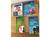 DVSA Guide Heavy Goods,traffic signs, Highway Code and London A-Z