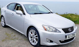 Lexus IS250 SE-L 2.5 V6 petrol Automatic ... SatNav / Revesce camera / Leather seat ...