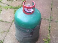calor gas bottle empty green for patio bbq