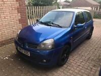 Cup edition Clio sport 172. Good future track car. Not 182