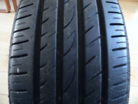 205 45 17 Tyre 6mm excellent condition