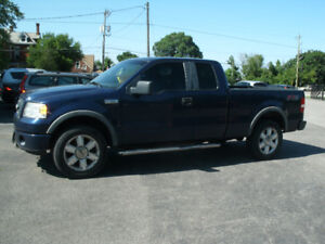 2007 Ford F-150 FX4: Leather, 4X4 ,Good Body, Drives Great!