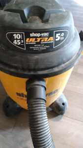 Shopvac ultra.  10gallons    Wet/dry with blower