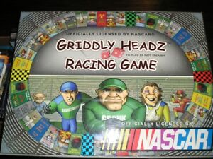 NASCAR GRIDDLY HEADZ RACING GAME