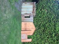 FREE Wood panels (assorted from dismantled shed) collect Crowthorne