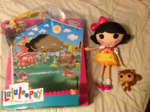 REDUCED!! Large Lalaloopsy with toy