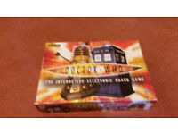 The ultimate interactive Dr Who electronic board game