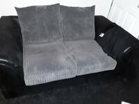 Corner settee and two seat sofa