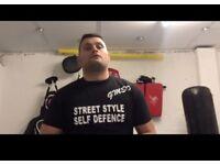 Self defence instructor