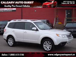 2012 Subaru Forester 2.5X AWD/PANO-ROOF/EASY FINANCING AVAILABLE