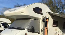 Silver Screen for Motor Home