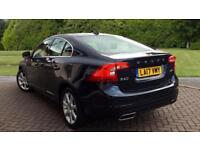 2017 Volvo S60 D4 (190) SE Lux Nav 4dr Auto W Automatic Diesel Saloon