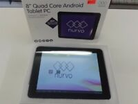 "Nurvo Mini 8"" Quad Core - Android Tablet - 8GB - £49"