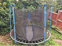 Free trampoline not bad condition - collection only