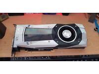 Nvidia GTX 1080 Founders Edition x2