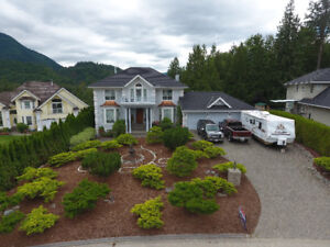 Custom Built Colonial Style Home - 1/2 Acre (Chilliwack)