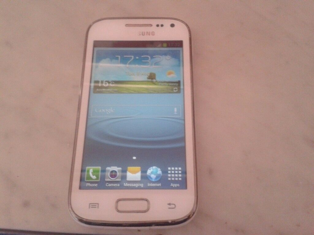 SAMSUNG GALAXY ACE 2 WHITE dual core Android smartphone Android smartphin Bournemouth, DorsetGumtree - SAMSUNG GALAXY ACE 2 WHITE dual core Android smartphone Android smartphone in good condition on EE/TMOBILE/VIRGIN/BT/ASDA/PLUSNET NETWORK its has been factory reset so all ready to pop in your sim card comes with a charger lead £25 cash only...