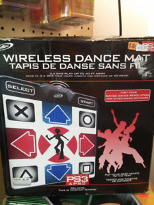 Wireless Dance Mat for PS2 or PS3 - MUSKOKA LIQUIDATION