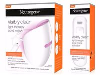 NEW Neutrogena Visibly Clear Light Therapy Acne Mask
