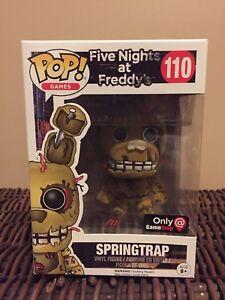 Funko Pop Five Nights at Freddys Springtrap Exclusive