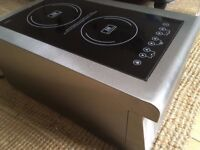 As new Burco twin induction hob - Absolute bargain!