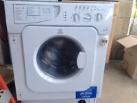 Integrated indesit washer dryer IWDE-146