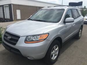 2009 Hyundai Santa Fe SUV leather,Sunroof,1 owner !