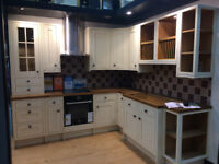 Details about Ex Display Fitted Kitchen B&Q Cooke & Lewis Woburn Range - Modern Farmhouse