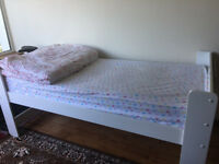 Kids Bunk Bed with 2 orthopaedic mattresses