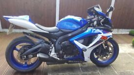 GSXR 600 Blue lowered
