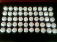 50 srixon golf balls, excellent condition