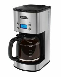 Sunbeam Stainless Steel 12- Cup Programmable Coffee Maker - BVSB