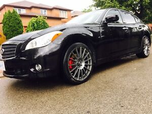 "STUNNING 2012 Infiniti M37X FULLY LOADED SPORTS PKG W/20""OZ RIMS"