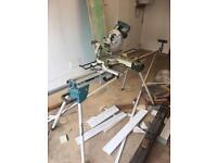 Makita chop saw and stand