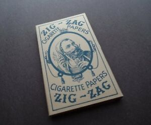 Vintage Rare WW2 Zig-Zag Rolling Papers