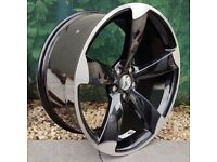 """20"""" TTRS Alloy Wheels and tyres for VW Audi Seat ETC"""