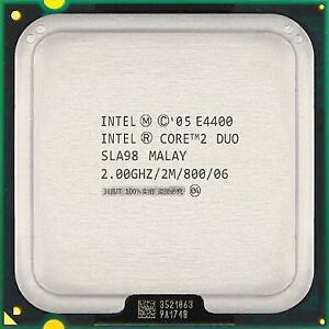 Intel Core 2 Duo 2.00 Ghz Processor E4400 with fan