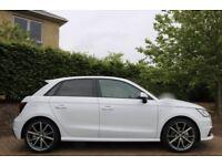 Audi A1 S Line White 5 Door