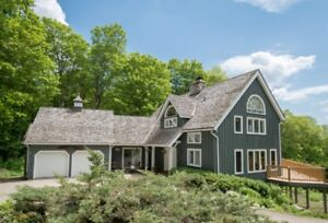 Stunning Timber Frame on 10 Acre Lot in Caledon