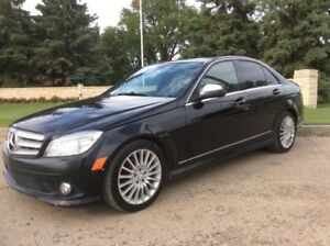 2008 Mercedes Benz C230, AUTO, AWD, LEATHER, ROOF, $8,500